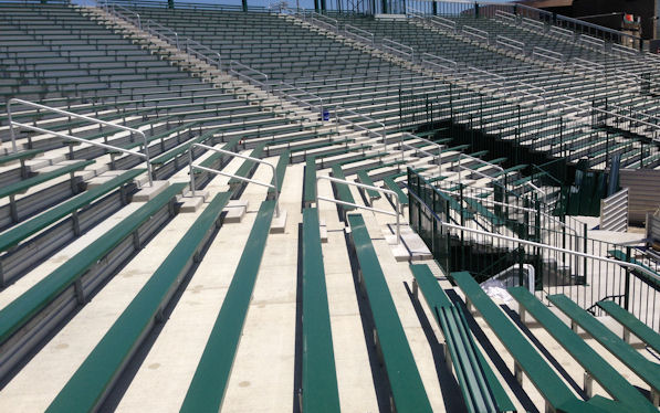 Yulman Stadium Bleacher Seating at Tulane in New O