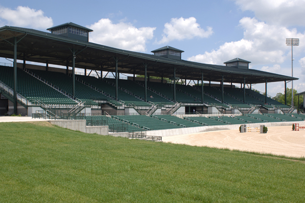 Kentucky Horse Park grandstand completed by Dant C