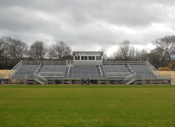 Alum-a-Stand bleacher system installed by Dant Cla