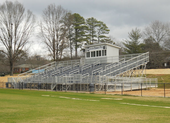 Alum-a-stand bleachers and grandstand installed by