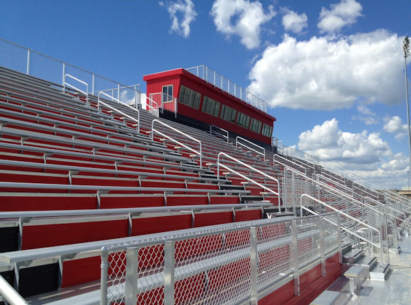 Huntley High School Football Stadium in Huntley, I