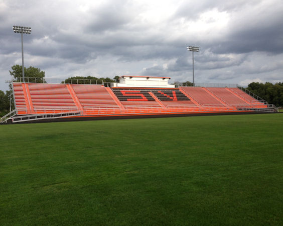 Southview High School Bleachers in Sylvania, OH