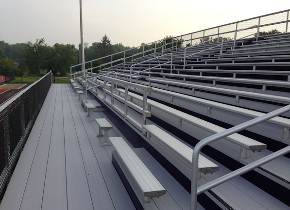 Eaton High School Grandstand in Eaton, OH