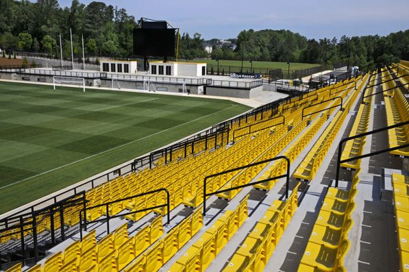 Stadium seats at Kennesaw State University Soccer