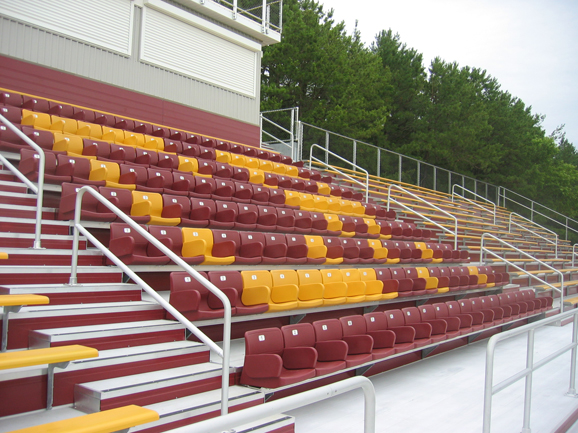 Stadium seating completed by Dant Clayton for Cent