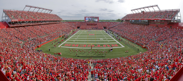 Rutgers Stadium at Rutgers University where Dant C