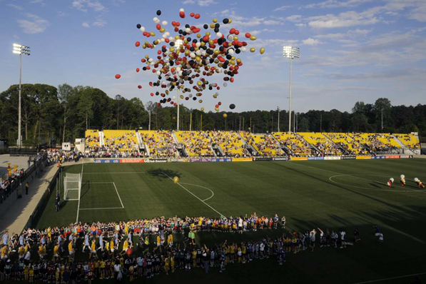 Kennesaw State University Soccer Stadium where Dan